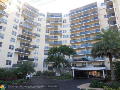 Fort Lauderdale Condo/Townhouse For Sale: 5100 Dupont Blvd #5J