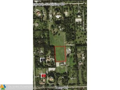 Southwest Ranches Residential Lots & Land For Sale: 00 Hancock Rd