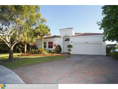 Miramar Single Family Home For Sale: 16886 SW 51st St
