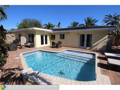 Wilton Manors Single Family Home For Sale: 2709 NE 16th Ave