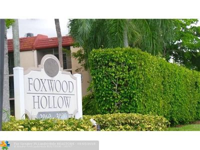 Coral Springs Condo/Townhouse For Sale: 2980 Riverside #129-3