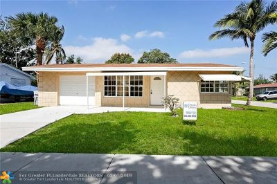 Pompano Beach Single Family Home For Sale: 1131 NE 42nd Ct