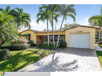 Fort Lauderdale Single Family Home Backup Contract-Call LA: 1700 NE 19th St