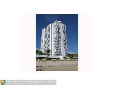 Pompano Beach Condo/Townhouse For Sale: 1360 S Ocean Blvd #703