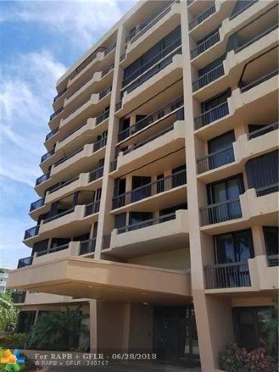 Pompano Beach Condo/Townhouse For Sale: 1300 S Ocean Bl #PH-2
