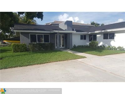 Pompano Beach Single Family Home For Sale: 221 NE 18th Ave