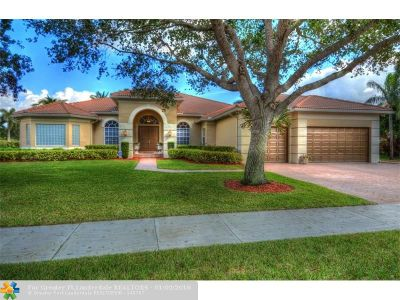 Davie Single Family Home For Sale: 4320 SW 131st Ave