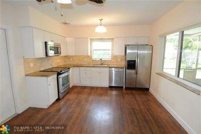 Deerfield Beach Single Family Home Backup Contract-Call LA: 1945 NE 6th St