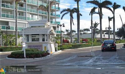 Fort Lauderdale Condo/Townhouse For Sale: 2200 S Ocean Ln #801