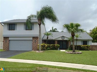 Davie Single Family Home For Sale: 1311 White Stone Way