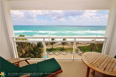 Broward County Condo/Townhouse For Sale: 500 SE 21st Ave #608