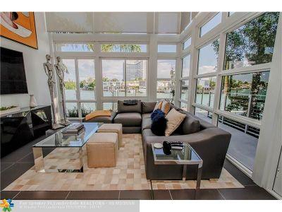 Miami Beach Condo/Townhouse For Sale: 93 N Shore Dr #93