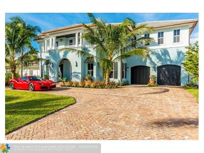 Pompano Beach FL Single Family Home Backup Contract-Call LA: $2,099,000