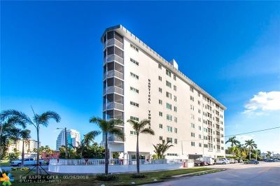 Fort Lauderdale Condo/Townhouse For Sale: 720 Bayshore Dr #403