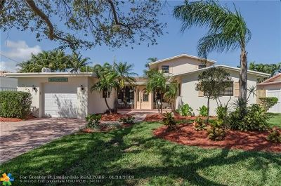 Lauderdale By The Sea Single Family Home For Sale: 259 Lombardy Ave