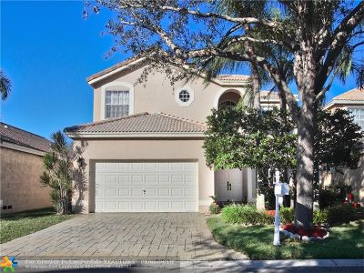 Coral Springs Single Family Home For Sale: 5240 NW 112th Way