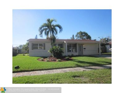 Sunrise Single Family Home For Sale: 6210 NW 12th Ct