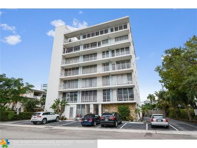 Fort Lauderdale Condo/Townhouse For Sale: 524 Orton Ave #201