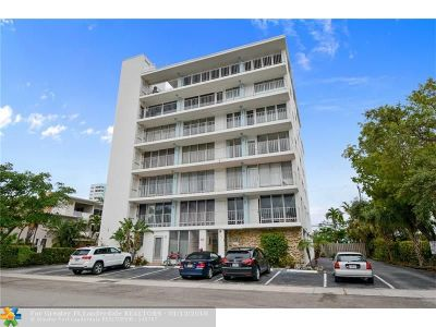 Fort Lauderdale Condo/Townhouse For Sale: 524 Orton Ave #401