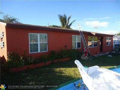 Fort Lauderdale Single Family Home Backup Contract-Call LA: 1349 SW 48th Ave