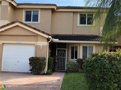 Coral Springs Condo/Townhouse Backup Contract-Call LA: 12616 NW 56th St #12616