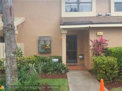 Coconut Creek Condo/Townhouse For Sale: 3807 Carambola Cir #28104