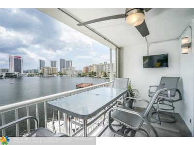 Hallandale Condo/Townhouse For Sale: 410 Golden Isles Dr #506