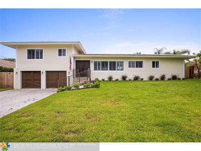 Lighthouse Point Single Family Home For Sale: 2948 NE 35th Ct