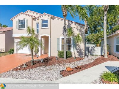 Coconut Creek Single Family Home Backup Contract-Call LA: 4265 NW 61st Ct