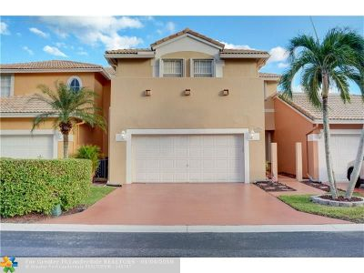 Coral Springs Condo/Townhouse For Sale: 5607 NW 118th Dr #5607