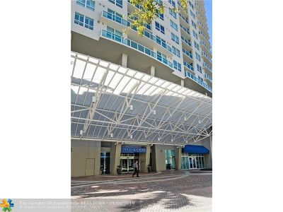 Fort Lauderdale Condo/Townhouse For Sale: 350 SE 2nd St #1750