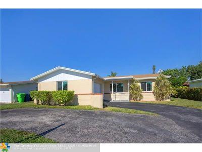 Sunrise Single Family Home Backup Contract-Call LA: 9825 NW 25th Ct