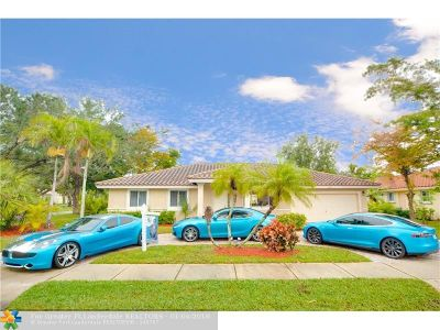 Coral Springs Single Family Home Backup Contract-Call LA: 9887 NW 28th St