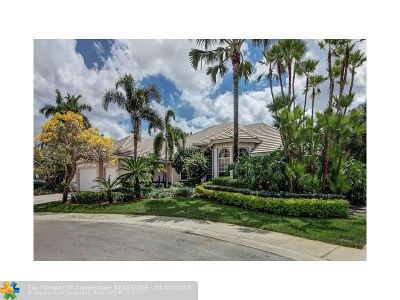 Weston Single Family Home For Sale: 2486 Princeton Ct