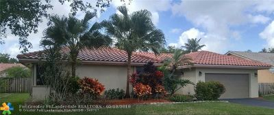Coral Springs Single Family Home For Sale: 5164 NW 66th Ln