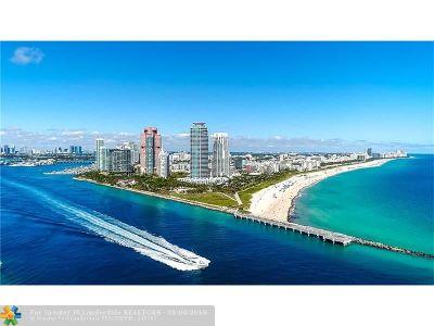 Miami Beach Condo/Townhouse For Sale: 100 S Pointe Dr #1706