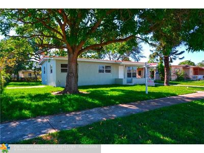 Fort Lauderdale Single Family Home For Sale: 924 NW 13th Ct