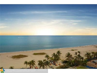 Pompano Beach Condo/Townhouse For Sale: 750 N Ocean Blvd #910