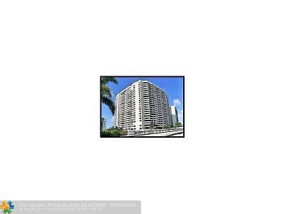Hallandale Condo/Townhouse For Sale: 2500 Parkview Dr #1821