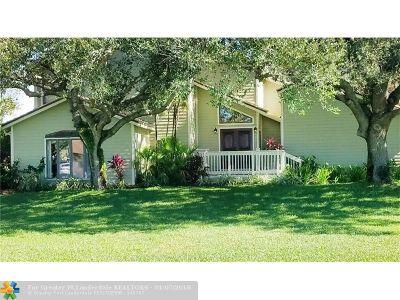 Davie Single Family Home For Sale: 3100 SW 131st Ter