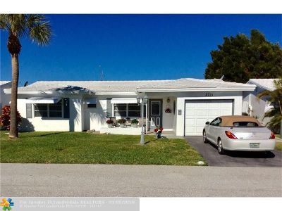 Pompano Beach Single Family Home For Sale: 2731 NW 4th Ave
