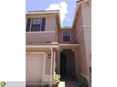 Pompano Beach Condo/Townhouse For Sale: 1040 NW 33rd Ct #1040