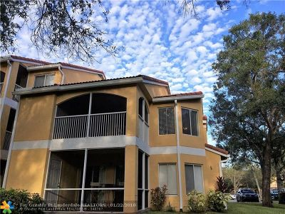 Oakland Park Condo/Townhouse For Sale: 2485 NW 33rd St #1607