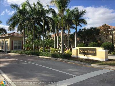 Coconut Creek Condo/Townhouse For Sale: 4680 Mimosa Pl #812