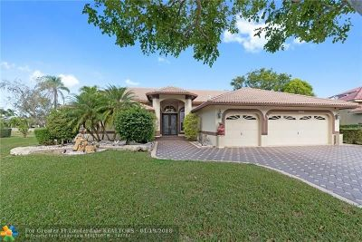 Coral Springs Single Family Home For Sale: 11062 NW 49th Dr