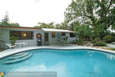 Wilton Manors Single Family Home For Sale: 3032 NE 2nd Ter