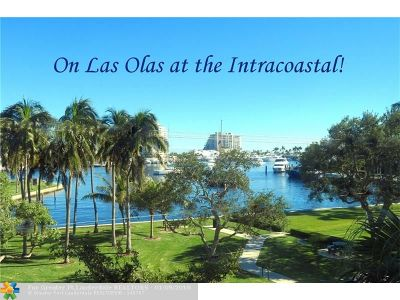 Fort Lauderdale Condo/Townhouse For Sale: 2500 E Las Olas Blvd #302