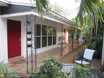 Fort Lauderdale Multi Family Home For Sale: 1624 NE 1st St
