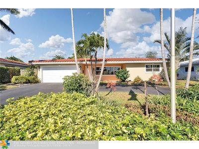 Fort Lauderdale Single Family Home For Sale: 5431 NE 21st Ter