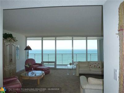 Pompano Beach Condo/Townhouse For Sale: 1390 S Ocean Blvd #15C